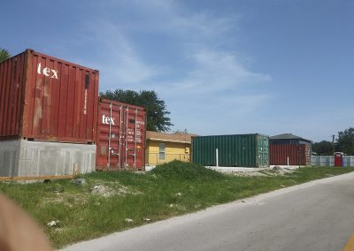 Shipping Container Construction