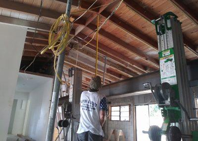 Image of Steel Beam Installation