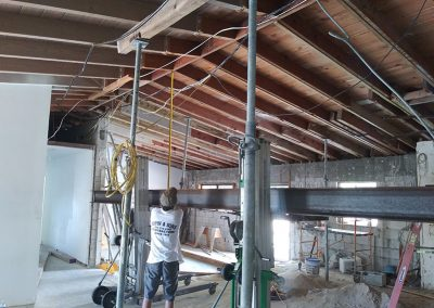 Image of Steel Beam Installation